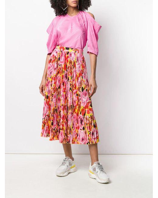 MSGM マイクロプリーツ スカート Pink