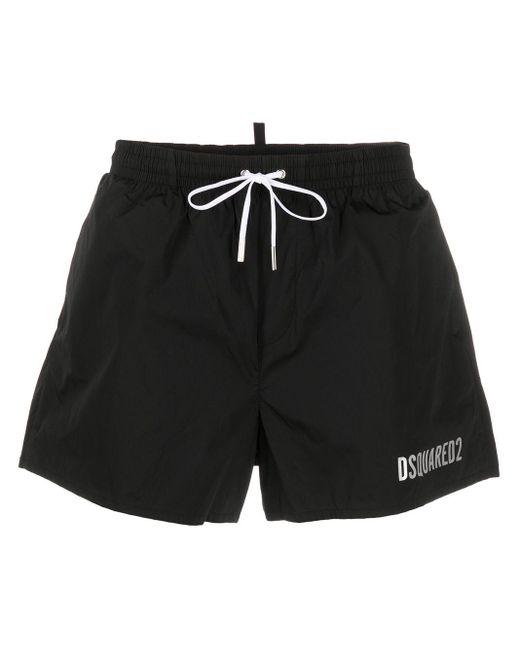 Плавки-шорты С Логотипом DSquared² для него, цвет: Black