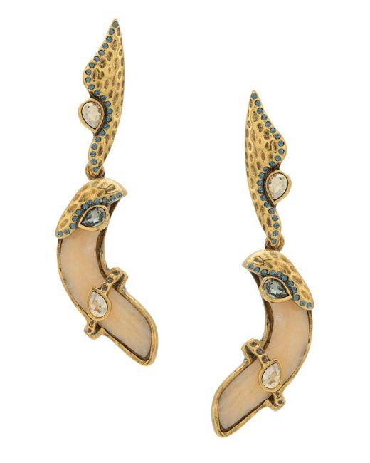 Boucles d'oreilles pendantes Natural Orgânico Camila Klein en coloris Metallic