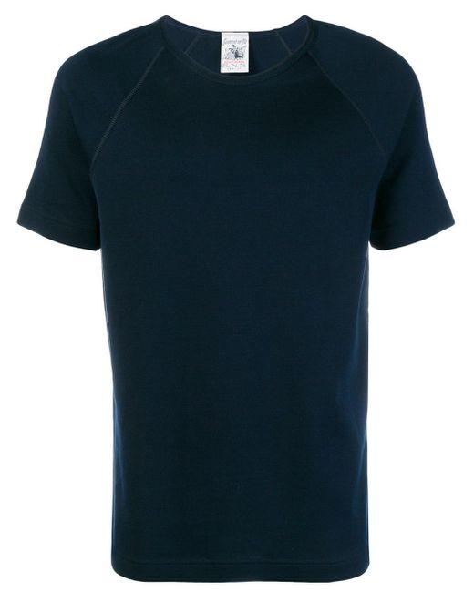 メンズ S.N.S Herning Symbol Tシャツ Blue