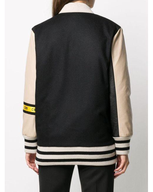 Peserico ロゴ ボンバージャケット Black