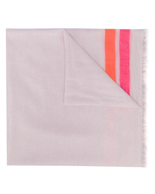Faliero Sarti ストライプ スカーフ Pink