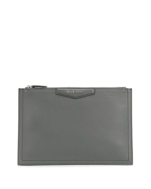 Givenchy アンティゴナ クラッチバッグ Gray
