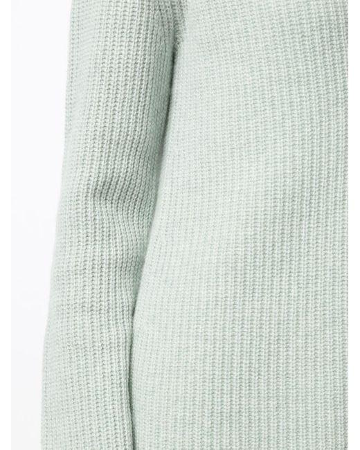 Кашемировый Джемпер С V-образным Вырезом Vince, цвет: Green