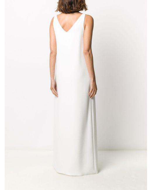 Платье Макси Свободного Кроя Styland, цвет: White