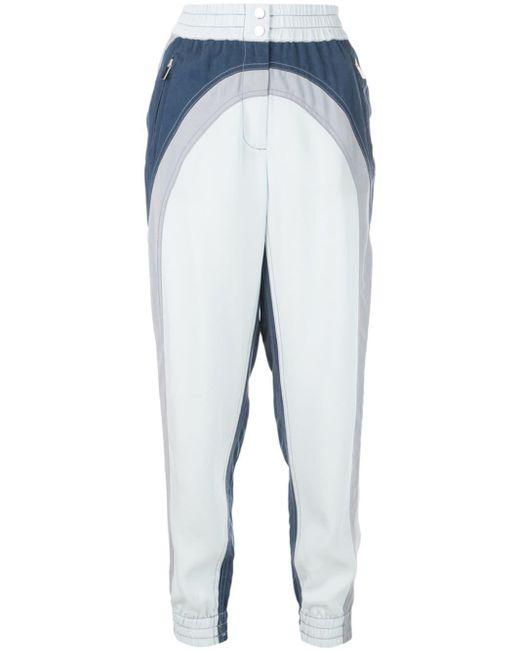 10 Crosby Derek Lam カラーブロック ジョガーパンツ Blue