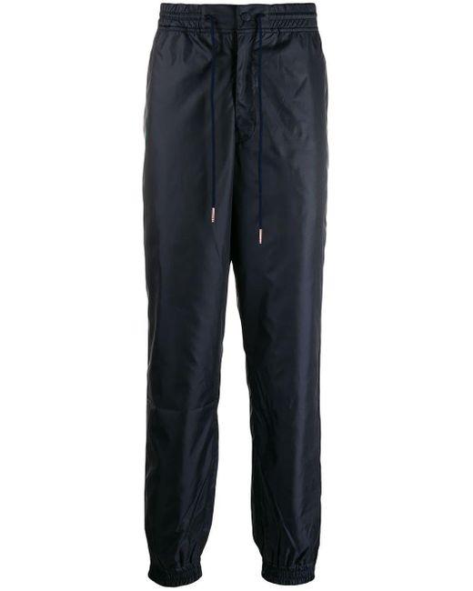 メンズ Thom Browne Rwb Stripe Ripstop Track Pants Blue