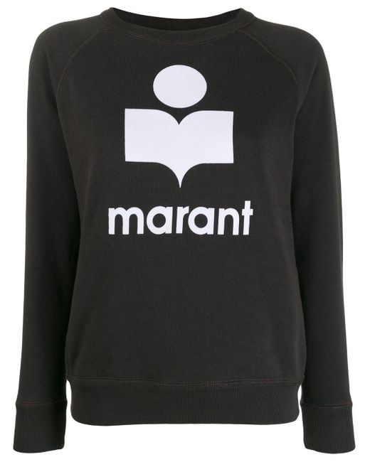 Sweat à logo imprimé Étoile Isabel Marant en coloris Black