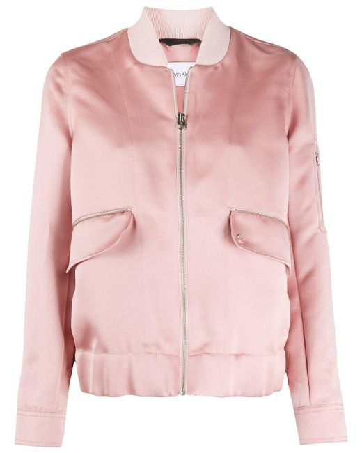 Calvin Klein ボンバージャケット Pink