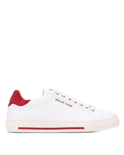 Philipp Plein White 'Original' Sneakers