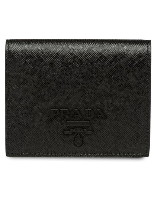 Prada Black Kleines Portemonnaie