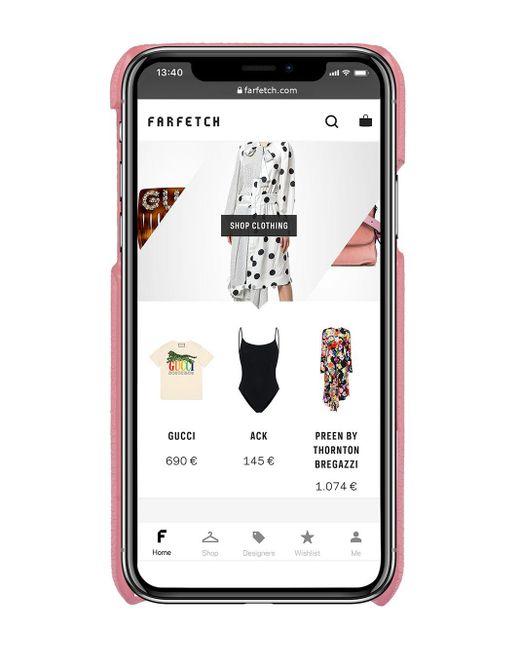 Miu Miu ビジュー Iphone X/xs ケース Pink