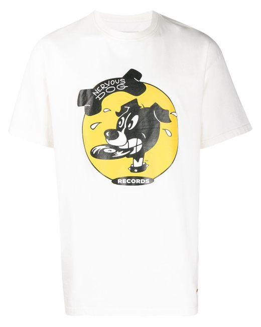 メンズ Buscemi プリント Tシャツ White