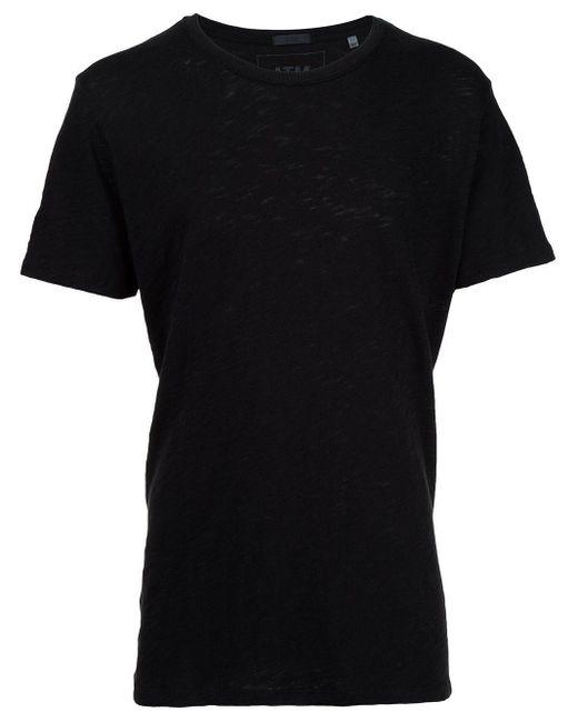 メンズ ATM ジャージーtシャツ Black