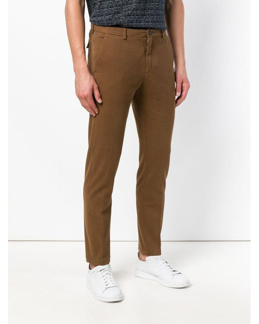 Straight Chinos Department 5 для него, цвет: Brown