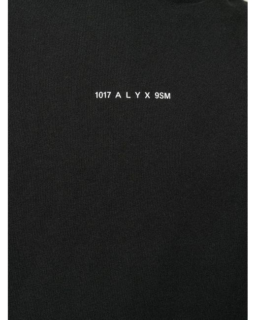 メンズ 1017 ALYX 9SM ロゴ パーカー Black