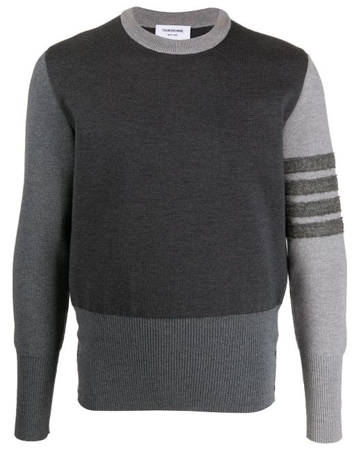 メンズ Thom Browne カシミア セーター Gray