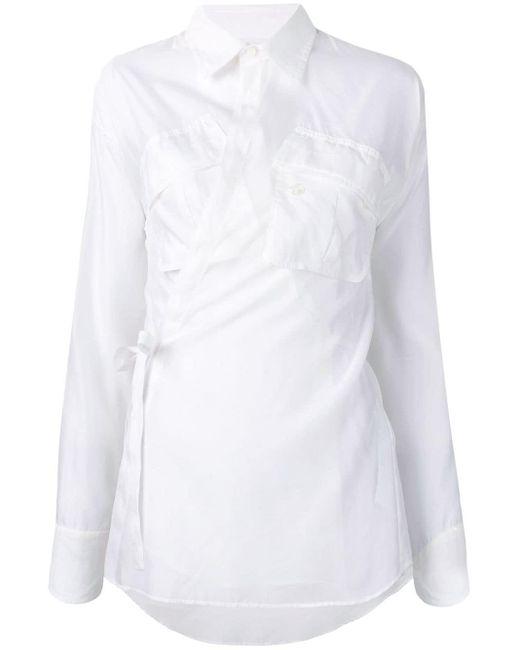 DSquared² ラップ シャツ White