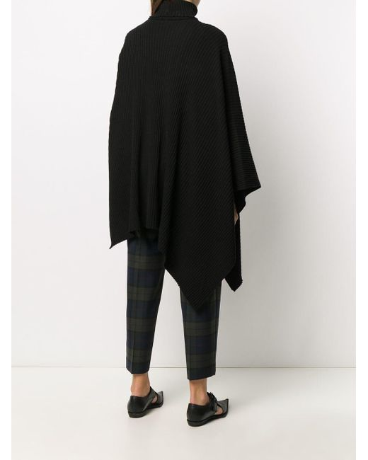 Y's Yohji Yamamoto ドレープ セーター Black