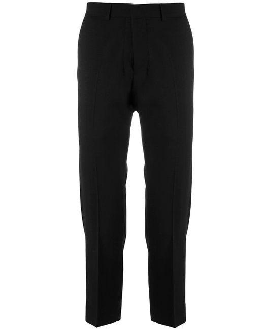メンズ AMI クロップドフィット パンツ Black