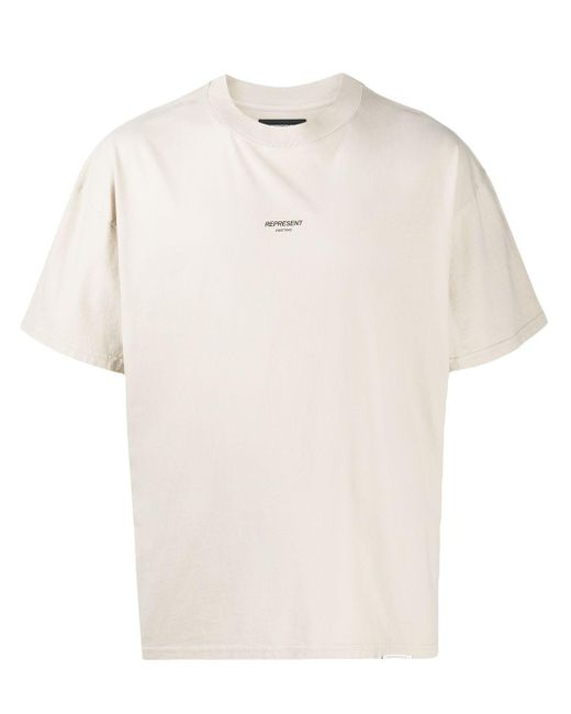 メンズ Represent ロゴ Tシャツ Multicolor