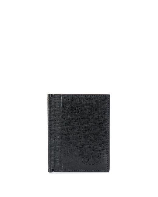 メンズ Ferragamo 二つ折り財布 Black
