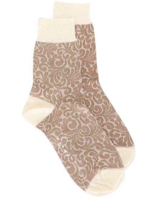 Marni アブストラクトパターン 靴下 Multicolor