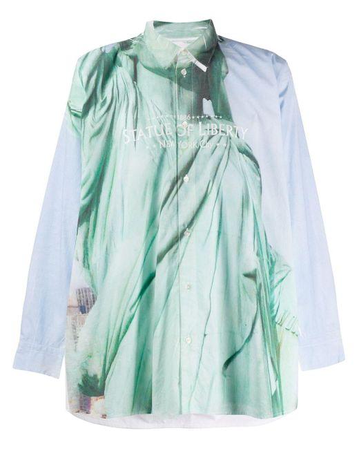 メンズ Doublet Statue Of Liberty シャツ Multicolor