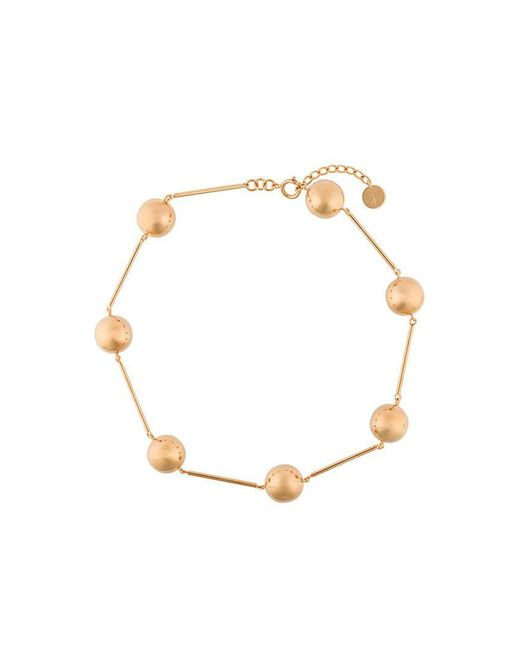 J.W. Anderson - Metallic Bead Chain Necklace - Lyst