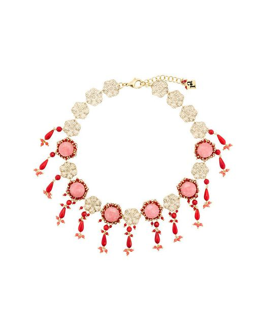 Rosantica - Metallic Corte Necklace - Lyst