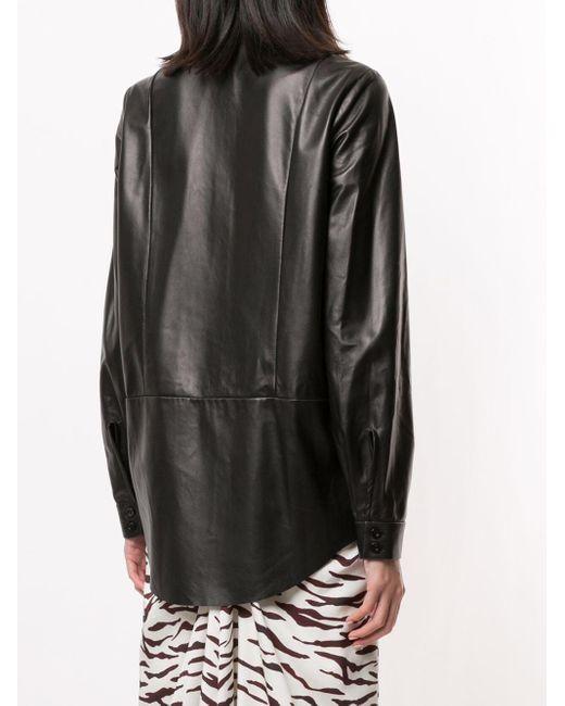 DROMe オーバーサイズ シャツ Black