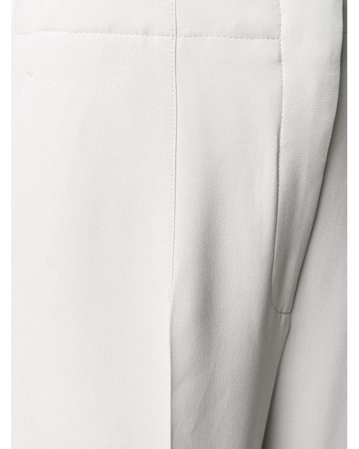 Расклешенные Брюки Giorgio Armani, цвет: Gray