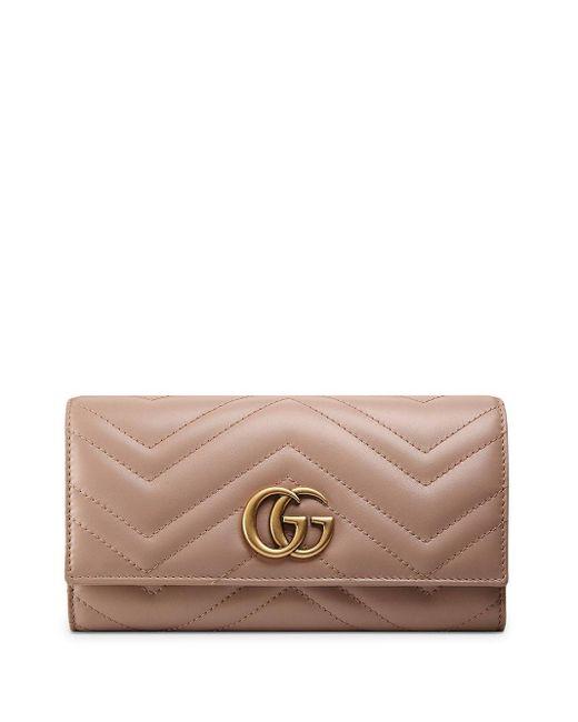 Кошелек GG Marmont Gucci, цвет: Multicolor