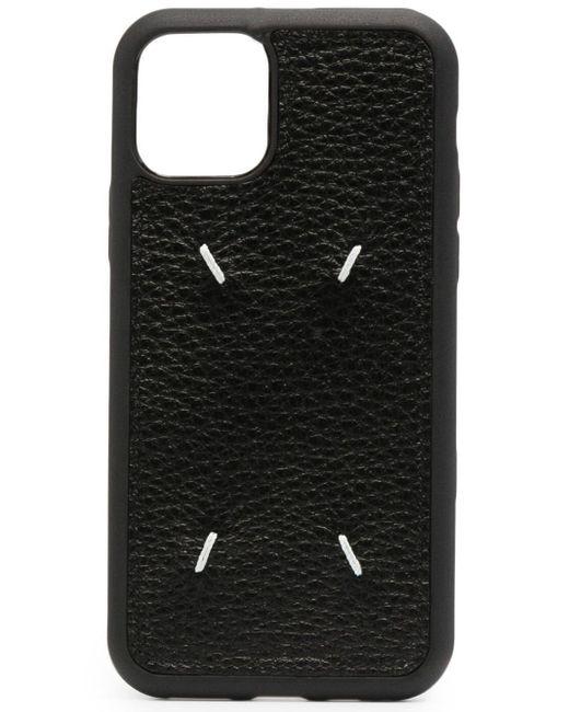 Cover per iPhone 11 Pro di Maison Margiela in Black