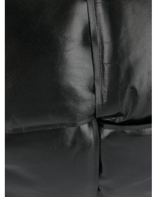 Дутый Клатч С Плетением Intrecciato Bottega Veneta для него, цвет: Black