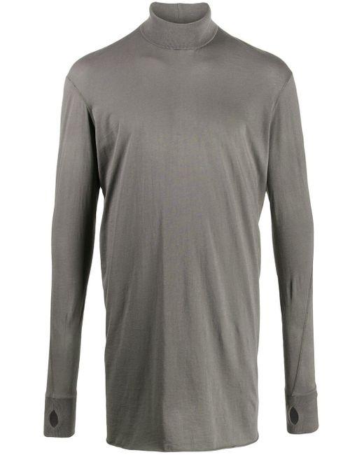 メンズ Boris Bidjan Saberi 11 ロングtシャツ Gray