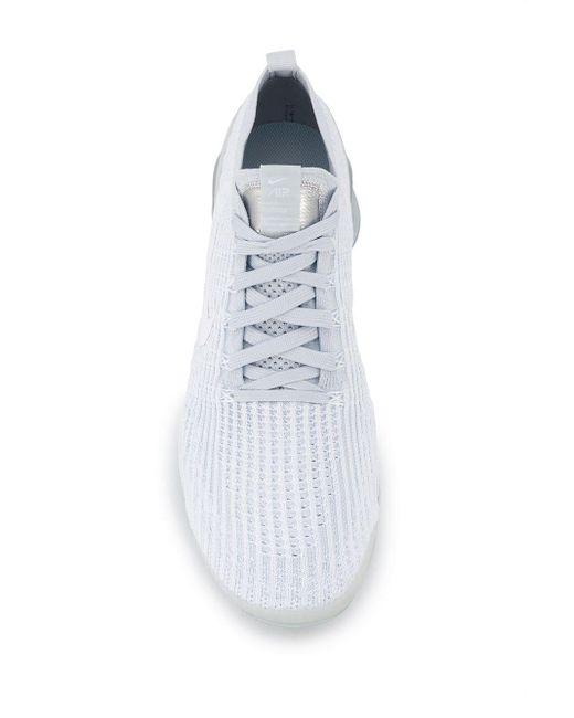 メンズ Nike ホワイト エア ヴェイパーマックス フライニット 3 スニーカー White
