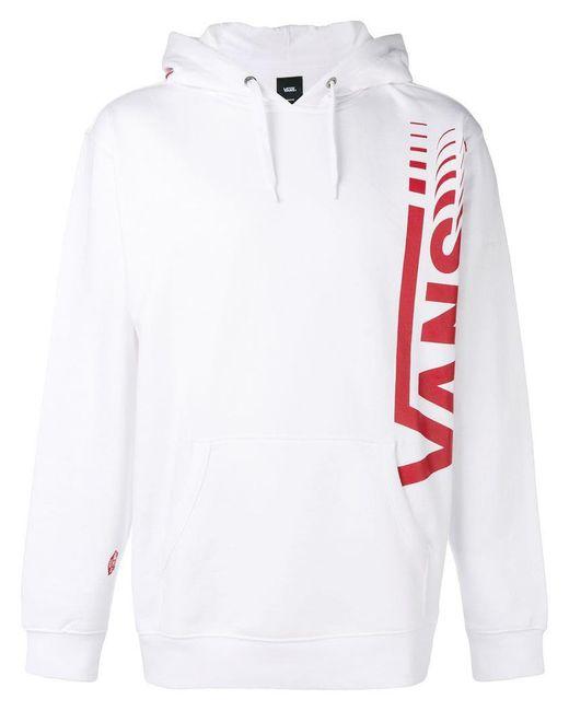 Vans - White Distort Hoodie for Men - Lyst