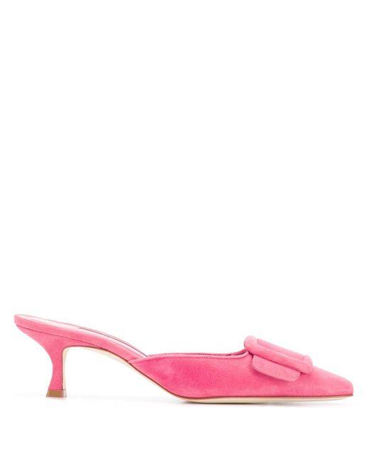 Manolo Blahnik Maysale 65 パンプス Pink