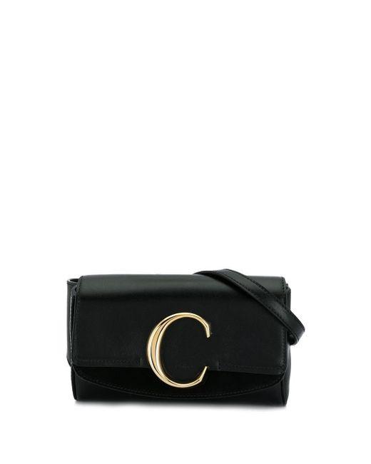 Chloé C ベルトバッグ Black