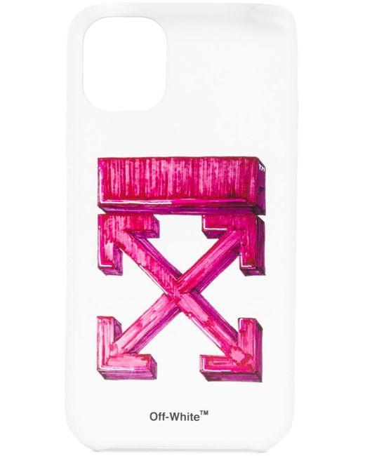 Чехол Для Iphone 11 С Логотипом Arrows Off-White c/o Virgil Abloh для него, цвет: White