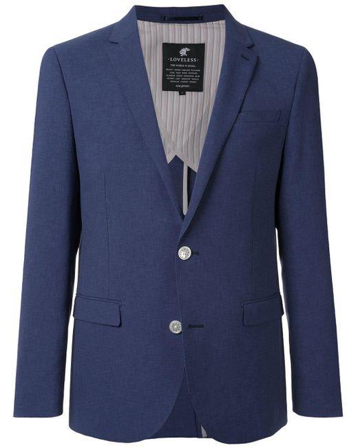 メンズ Loveless シングルジャケット Blue