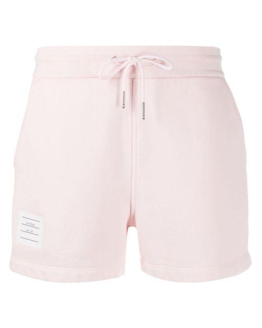 Thom Browne ストライプ ショートパンツ Pink