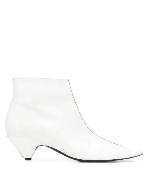 Stella McCartney Ariane アンクルブーツ White