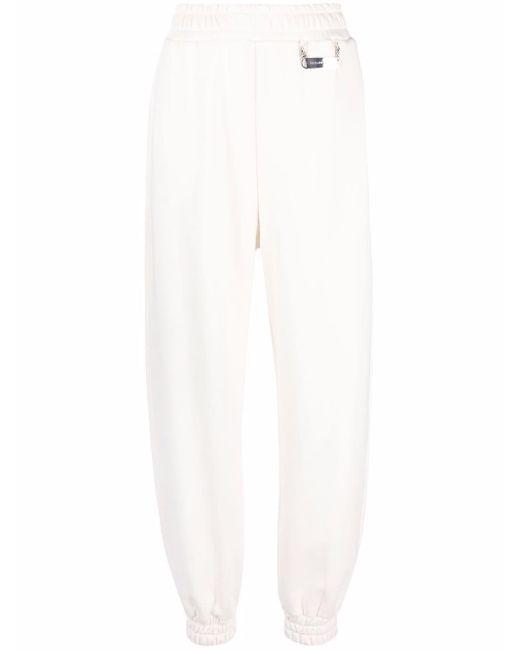 Philipp Plein ロゴ ジョガーパンツ White