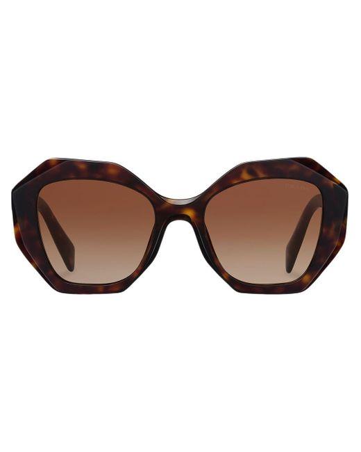 Prada Brown Sonnenbrille in Schildpattoptik