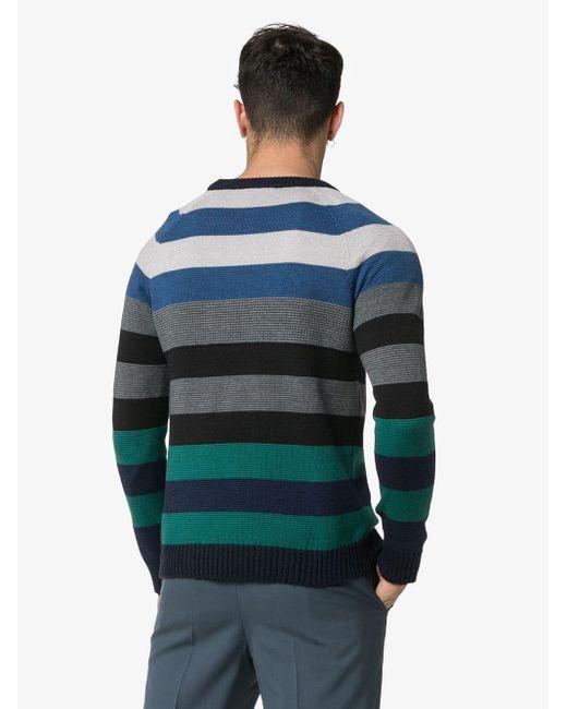 メンズ Missoni ロゴ セーター Blue