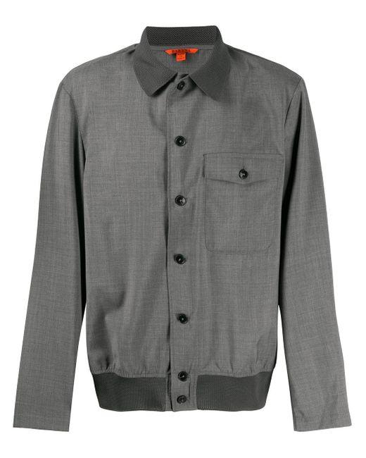 メンズ Barena シャツジャケット Gray