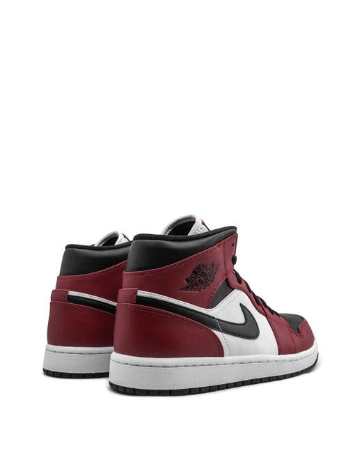 Nike 'Air 1 Mid' Sneakers in Red für Herren
