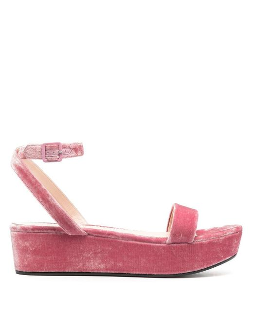 Emilio Pucci フラットフォーム サンダル Pink